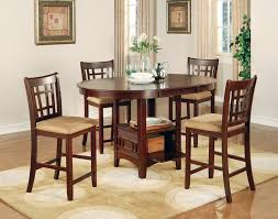 5 Piece Counter Height Dining Room Sets by Dining Tables Round Pub Table Bar Height Dining Table 7 Piece