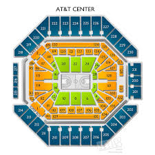 Cavs Floor Box Seats by Spurs Vs Cavaliers Tickets At At U0026t Center 1 23 18