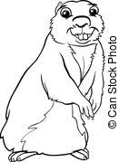 Gopher Illustrations and Clipart 436 Gopher royalty free