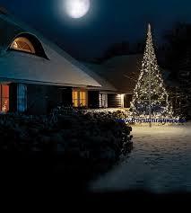 Flagpole Christmas Tree Uk by Flagpole Christmas Tree Lighting 6 M 20 Ft With Warm White Flash