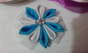 How To Make Flower A Ten Petal Ribbon Satin Step By