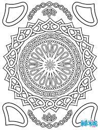 Coloring For Adults Worksheet Free Printable Mandalas ADVANCED Toddlers Preschool Or Kindergarten Children Enjoy This