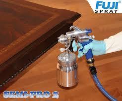 Hvlp Sprayer For Kitchen Cabinets by Fuji 2202 Semi Pro 2 Hvlp Spray System Power Paint Sprayers