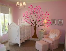 Nursery Wall Stencils Tree