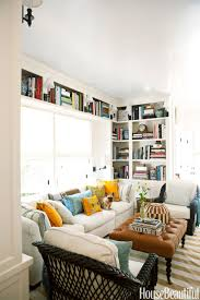 Decorating Bookshelves In Family Room by 60 Family Room Design Ideas Decorating Tips For Family Rooms