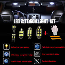 100 Led Interior Lights For Trucks AUDI A6 4F C6 S6 RS6 AVANT FULL LED KIT 21 Pcs