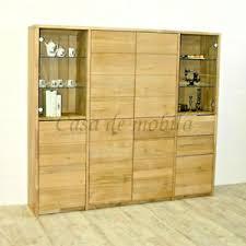 details zu massivholz highboard 178x161x33cm wildeiche bianco geölt eßzimmer schrank küchen