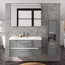 spiegelschrank badezimmer 100cm badschrank schmal 25 cm