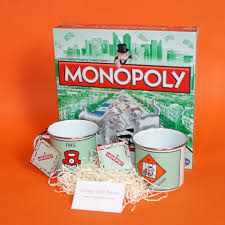 Monopoly Game Gift Set Moving House Gifts Housewarming Ideas UK New
