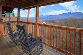 gatlinburg cabin with a view a view from above