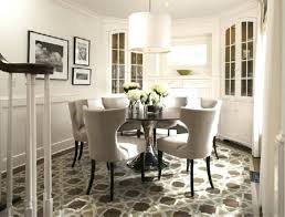 Khloe Kardashian Round Kitchen Table Room Image And Wallper 2017 Good Looking White Picture