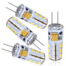 12v ac dc silicone coated g4 led bulb 360 degree g4 light bulb