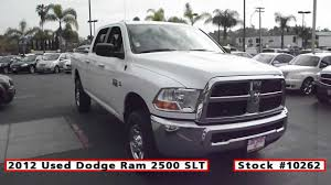 2012 Used Dodge Ram 2500 SLT 4x4 For Sale In San Diego At Classic ...