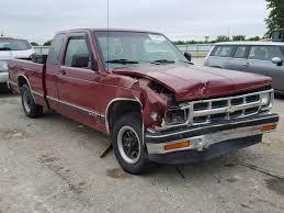 100 Truck Salvage Wichita Ks 1GCCS19Z8P0165559 1993 MAROON CHEVROLET S TRUCK S1 On Sale In KS
