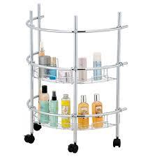 Pedestal Sink Storage Solutions by J E Allton Llc Pedestal Sink Rolling Organizer Bao1003008