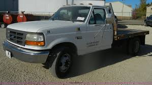 100 Pick Up Truck Song 1997 Ford F350 XL Flatbed Pickup Truck Item D4721 SOLD