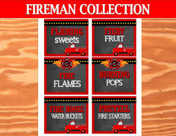 FIREMAN Birthday- Fire Fighter Party- Fire Truck- LABEL- Fireman ... Fire Truck Birthday Party With Free Printables How To Nest For Less Firefighter Ideas Photo 2 Of 27 Ethans Fireman Fourth Play And Learn Every Day Free Printable Invitations Invitation Katies Blog Throw A Themed On A Smokin Hot Maison De Pax Jacks 3rd Cheeky Diy Amy Tangerine Emma Rameys Firetruck Lamberts Lately Kids Something Wonderful Happened Decorations The Journey Parenthood Spaceships Laser Beams