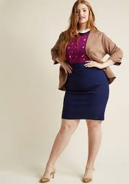 i u0027ll have the usual stretch pencil skirt in navy modcloth