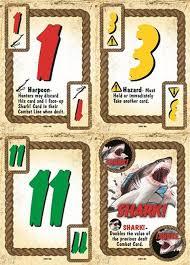 Shark Island Board Game Card