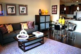 Living Room And Dining Small Space Design With Goodly Tricks To