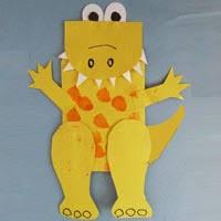 Preschool Dinosaur Crafts Activities And Printables