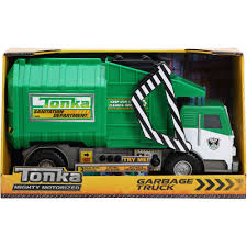 100 Rubbish Truck Funrise Toy Tonka Mighty Motorized Garbage Walmartcom