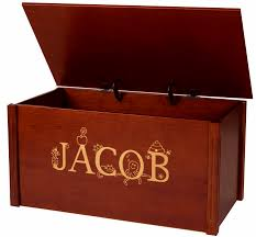 dream toy box personalized wood toy box toy chest w thematic font