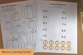 Life Cycle Of A Pumpkin Seed Worksheet by Pumpkin Worksheets For Kindergarten And First Grade Mamas
