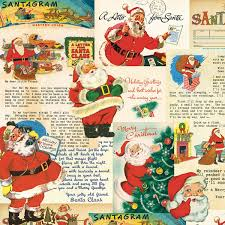 The Letter To Santa Christmas Wrapping Paper From Cavallini Is