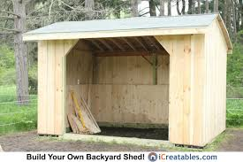 10x14 Garden Shed Plans by 10x14 Run In Horse Barn Shed Small Horse Barns Pinterest