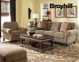 Broyhill Laramie Microfiber Sofa In Distressed Brown by Furniture Sleeper Sofa Queen Broyhill Cambridge Sofa Broyhill