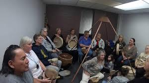 100 Susan Harmon Leads Full Moon Drumming Cirlcle 2518 In Sun City
