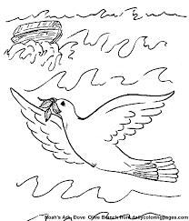 Noah Ark Kids Bible Coloring Book Pages