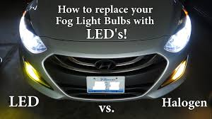 how to replace your fog light bulbs with led s