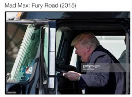 Mad Max Comparison | Donald Trump's Truck Photographs | Know Your Meme Cloud Mad Max Truck By Cloudochan On Deviantart Fury Road In Lego People Eater Fuel From Movie Road 3d Model Addon Pack Gta5modscom Game 2015 Scrapulance Pickup Truck Test Drive Youtube If Had A Gmc This Would Be It Skin For Peterbilt 579 V10 Ats Mods American Pin Trab Sampson Maxing Pinterest Max Kenworth W900 Simulator Mod Night Wolves Wows Lugansk Residents Sputnik Teslas Protype Semi Has A Autopilot Mode Better Angle Of That Mega From Mad Max Fury Road And Its