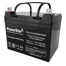 Hoveround Power Chair Accessories by Powerstar Hoveround Power Chair Replacement Batteries 2 Each 12v