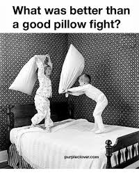 ✅ 25 Best Memes About Pillow Fights