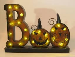 Halloween Battery Operated Taper Candles by Add A Traditional Spirit To Your Halloween With This Tabletop Led