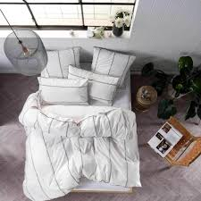 Jeromes Bedroom Sets by Single Bed Jerome White Quilt Cover U0026 Pillowcase Set By Linen House