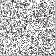 Doodle Designs Artists Coloring Book 31 Stress Relieving
