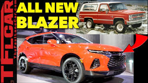 Breaking News: 2019 Chevy Blazer - It's Not A Truck & Everything ...