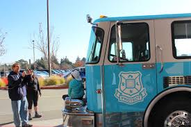100 Blue Fire Trucks Great Chance To Take A Photo On Our Big Blue Fire Truck The Nest