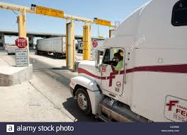 100 Southwest Truck And Trailer Commercial Port Along The Texas Southwest US Customs And