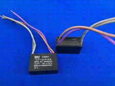 Cbb61 Ceiling Fan Capacitor 2 Wire by Cbb61 1uf 250v Ac 2 Wire Ceiling Fan Capacitor Ebay