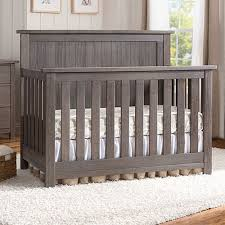 Serta Northbrook 4 In 1 Crib In Rustic Grey | Baby's Room ... Blankets Swaddlings Pottery Barn White Sleigh Crib As Well Bumper Together Archway Stain Grey By Land Of Nod Havenly Itructions Also Nursery Tour Healing Whole Nutrition Kids Dropside Cversion Kit F Youtube Serta Northbrook 4 In 1 Rustic Babys Room Emmas Nursery Kelly The City Abigail 3in1 Convertible Wayfair Antique In