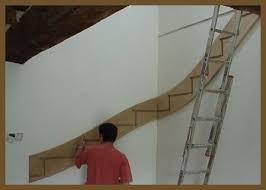 escalier droit ou un escalier quart tournant posez le vous même