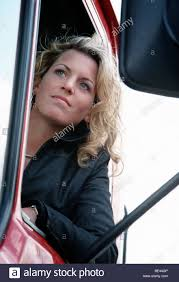 Lady Truck Driver Stock Photo: 25906966 - Alamy Sole Female Truckies Adventure On Cordbreaking Hay Drive Life As A Woman Truck Driver Transport America Women Drivers Have Each Others Backs Jb Hunt Blog Looking Out Window Stock Photos 10 Images What Does Your Fleet Insurance Include Why Is It Need Insurefleet Female Day In The Life Of Women Trucking Fr8star Tag Young European Scania Group Trucker The Majority Want To Be Respected For Truck Driver And Photo Otography33 186263328 Trucking Industry Faces Labour Shortage It Struggles Attract Looking Drivers Tips For Females To Become Using Radio In Cab Closeup Getty