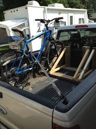 Lifting A Bicycle In Back Of Truck - Google Search | Bike Rack ... Show Your Diy Truck Bed Bike Racks Mtbrcom Truck Bike Rack Cungbakinfo Diy For Bed Elegant Lovely Outdoor Storage Diy Racks Singletracks Mountain News Homemade Fat Rack Mounted In The Of A 2012 Ford F150 Slideout Faroutride Most Popular Ways To Transport Safely Velosurance For Pvc And In The Ubiquirack Scuba Tanks Bikes And Anything Else One Wood Bicleteando Pinterest