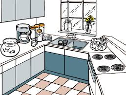 Clip Arts Related To Clean Kitchen Clipart