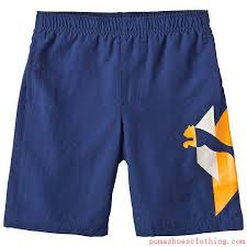 Kids Woven Bermuda Shorts Twilight Blue Pu824 5puma Cleatspuma Kingattractive